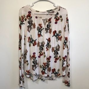 Cloud Chaser Long Sleeve Floral Blouse
